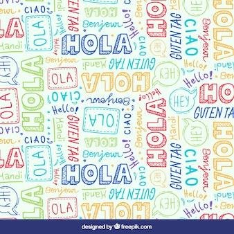 Olá em diferentes idiomas