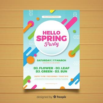 Olá festa da primavera