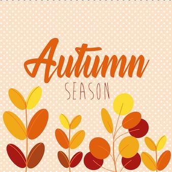 Olá folhas de outono