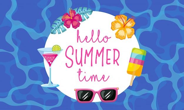 Olá, horário de verão