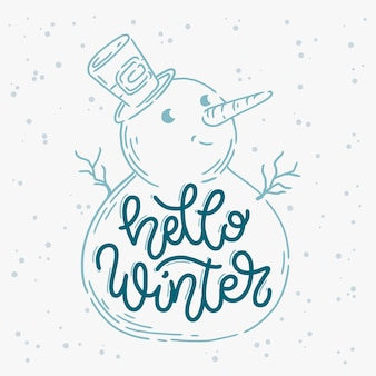 Olá inverno letras