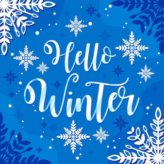 Olá inverno - letras
