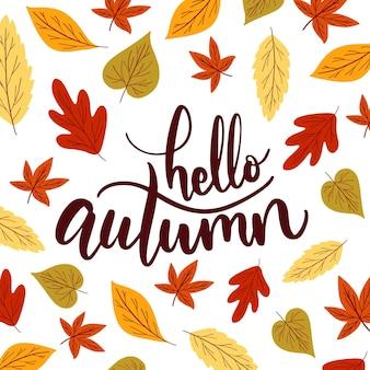 Olá outono - letras