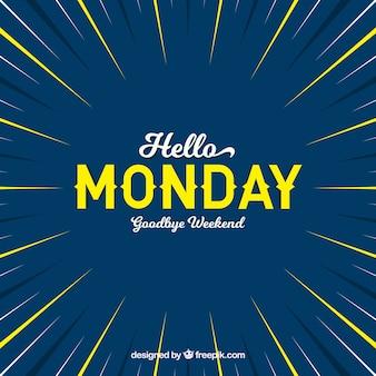 Olá segunda-feira, adeus fim de semana