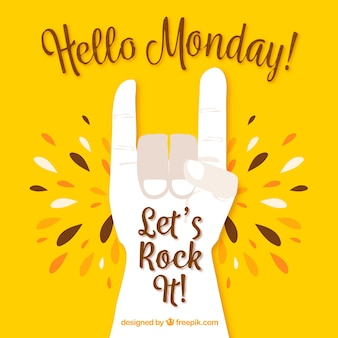 Olá segunda-feira, letras