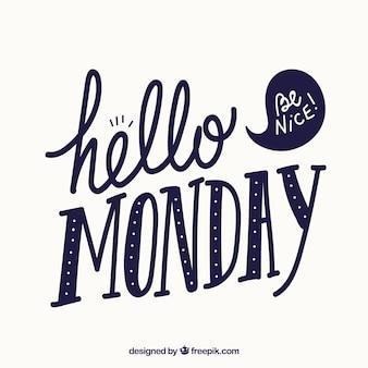 Olá segunda-feira