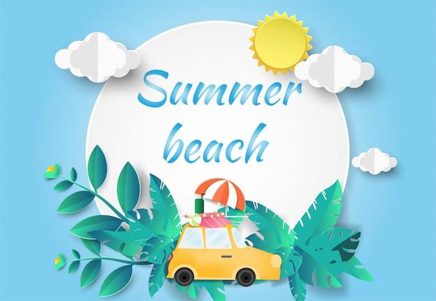 Olá summer beach party.