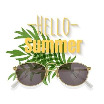 Olá temporada de verão