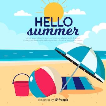 Olá verão