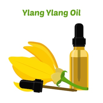 Óleo essencial natural de ylang ylang