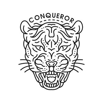 Onça-pintada conquistadora