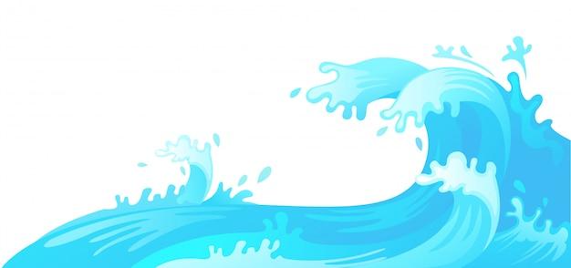 Onda de água