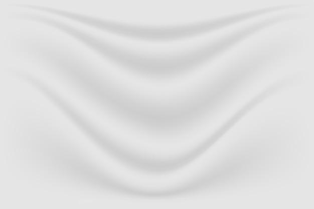 Onda de fundo e pano de seda de textura luxo cinza abstrata
