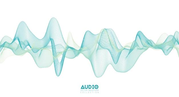 Onda sonora de áudio 3d