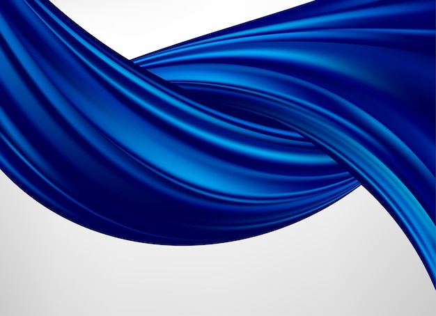 Onda voadora de seda ou cetim para a cerimônia de inauguração ou outra ocasião