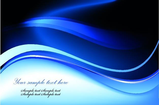 Ondas azuis fundo abstrato