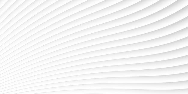 Ondas brancas cinza e padrão de linhas