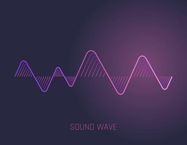 Ondas sonoras de música