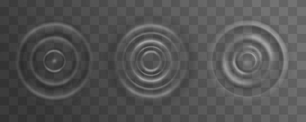 Ondulação, respingo da superfície da onda de água de uma gota.