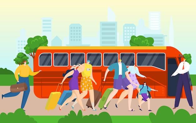 Ônibus para excursão turística