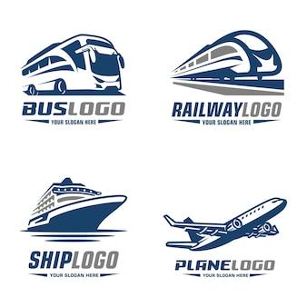 Ônibus trem avião cruzeiro