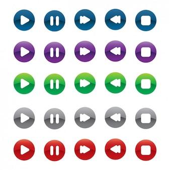 Opção multimedia buttons