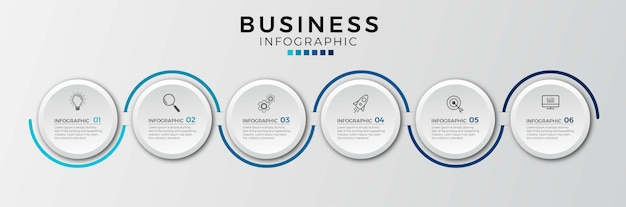 Opção número 5 infográfico design