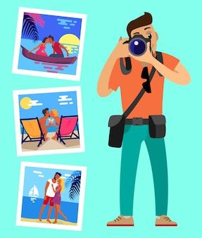 Operador de câmara e suas obras fotos de casais felizes