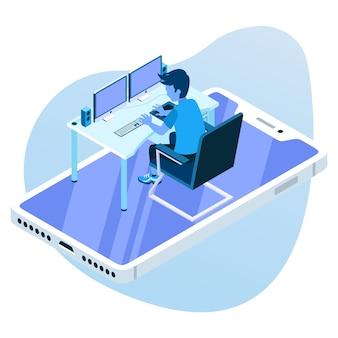 Operando os dispositivos