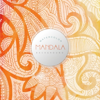 Oranga mandala background