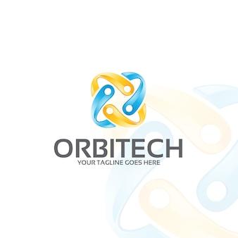 Orbitech - modelo de logotipo