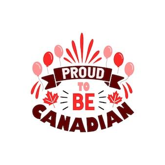 Orgulho de ser canadense, o dia do canadá cita letras