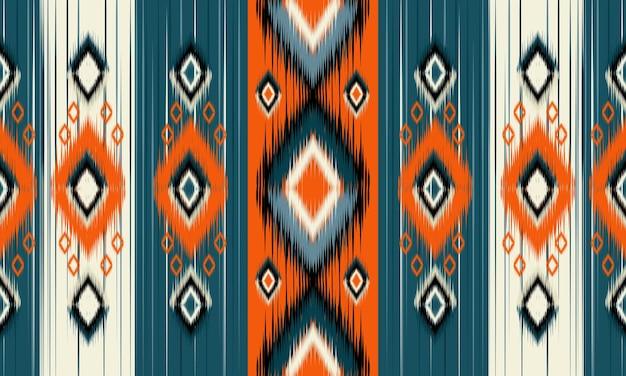 Oriental étnica padrão sem emenda vector fundo tradicional design para tapete, papel de parede, roupas, embrulho, batik, tecido, estilo de bordado de ilustração vetorial.