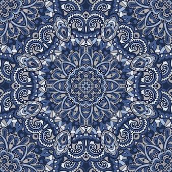 Oriental ornamentado padrão sem emenda.