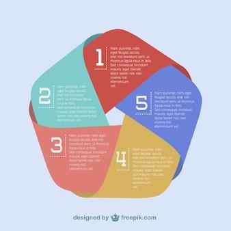 Origami papel infografia livre