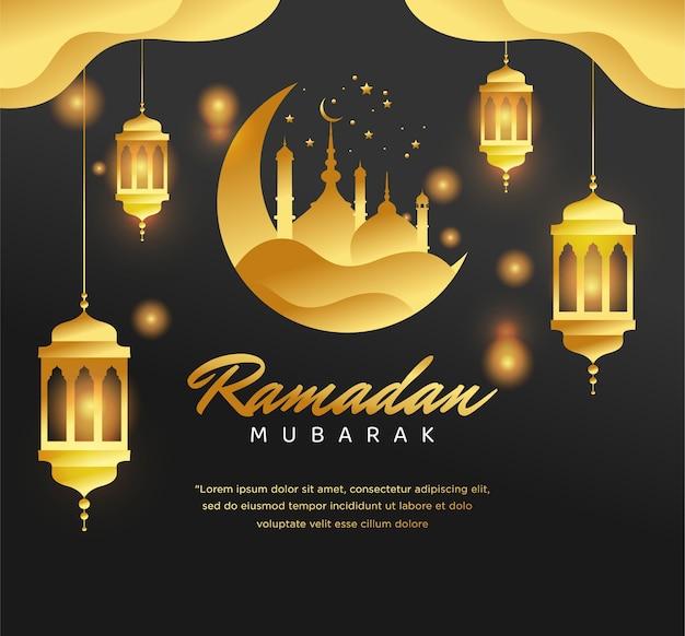Origem islâmica ramadan mubarak