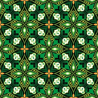 Ornamental mandala design abstract seamless pattern