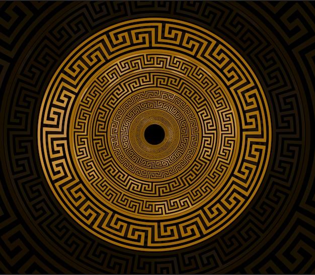 Ornamento circel ouro