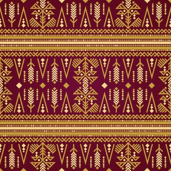 Ornamento de padrão de songket