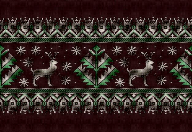 Ornamento de padrão sem emenda popular