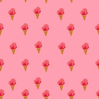 Ornamento de sorvete
