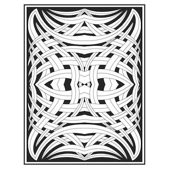 Ornamento decoração ilustração desenho