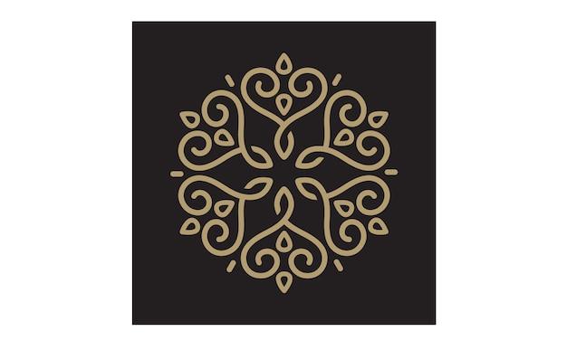 Ornamento elegante / vetor padrão