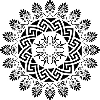 Ornamento grego meandro