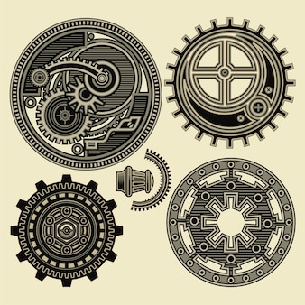 Ornamento steampunk
