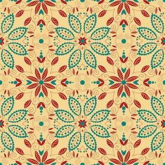 Ornamento tradicional oriental. padrão sem emenda