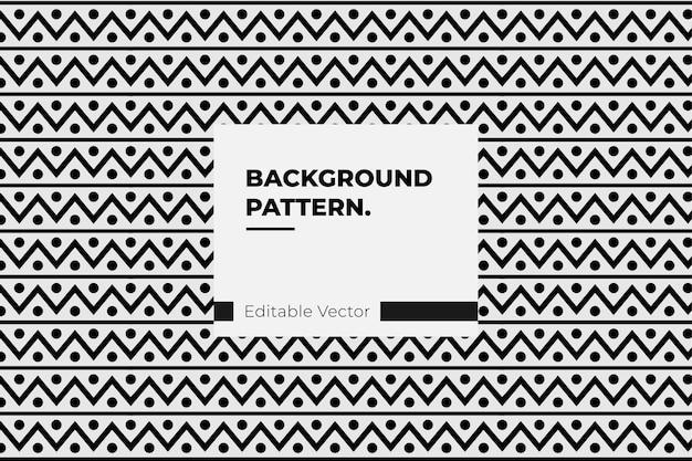 Ornamento tribal americano de padrão étnico - textura de desenho abstrato de padrão