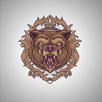 Ornamento urso