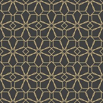 Ornamentos árabes. padrões, planos de fundo e papéis de parede para seu projeto. ornamento de têxteis. ilustração vetorial.