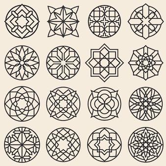 Ornamentos de arabesco.